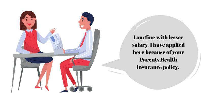 vector image of parents insurance cases
